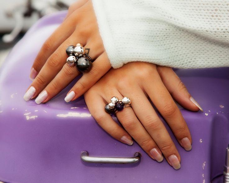Beautiful rings from danish designer.