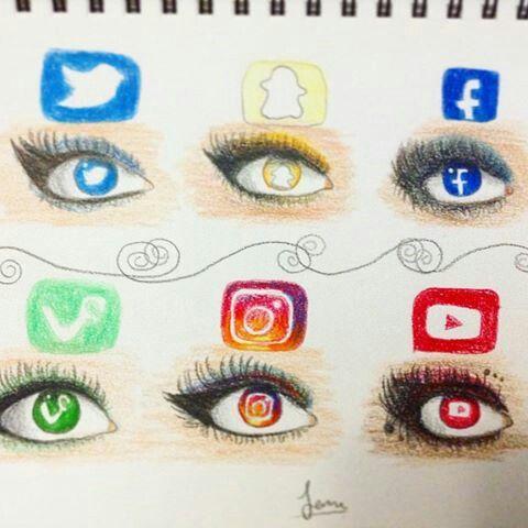 sociala media vän fantasi