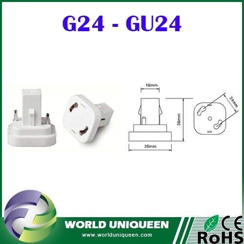 Check out this product on Alibaba.com App:G24 - GU24 Flame Retardant PBT Lamp Holder Adapter,G24 to GU24 High Temperature Resistant Lamp Holder Converter / Base https://m.alibaba.com/u6fumy