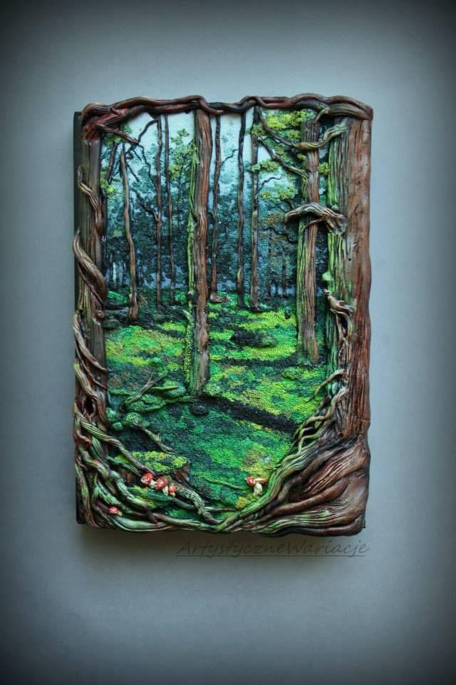 "Monika Duchowicz ""Mystical forest book"""