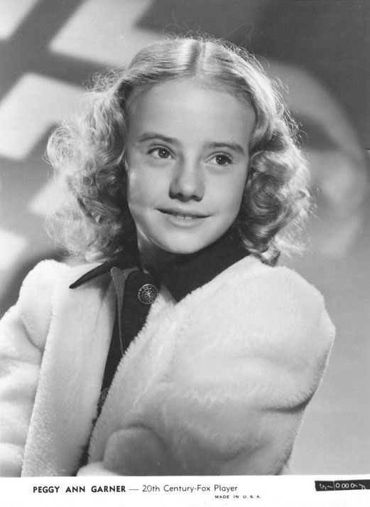 Peggy Ann Garner classic child actress born Feb. 3, 1932 and died Oct.15,1984 buried in Woodland Hills.