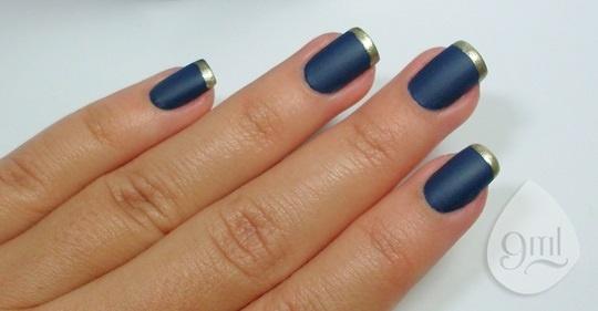 Francesinha Fosca Azul
