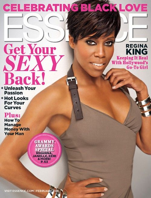 Regina King covers Essence Magazine (February, 2011)