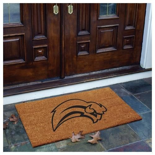 Interesting Open Door Welcome Mat Coir Rug Intended Decorating Ideas