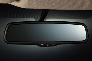 Auto-Dimming Rear View Mirror  - 2012 Nissan Versa Hatchback Accessory Parts - EAST CHARLOTTE NISSAN