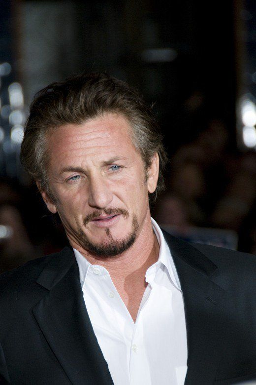 Sean Penn at the premier for Milk at the Castro Theatre in San Francisco, October 2008.