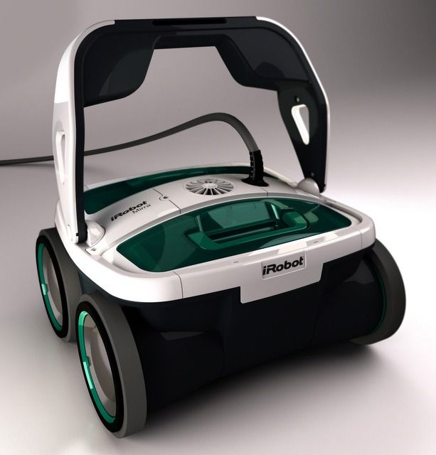 Let DJ Roomba's cousin clean your pool