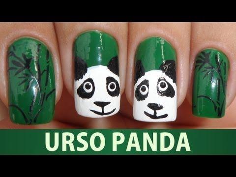▶ Unhas de Urso Panda - YouTube