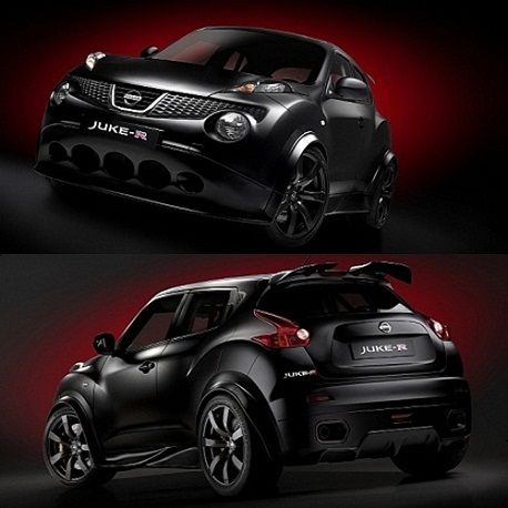 Juke+With+Gtr+Engine | First Look At Nissan Juke R |