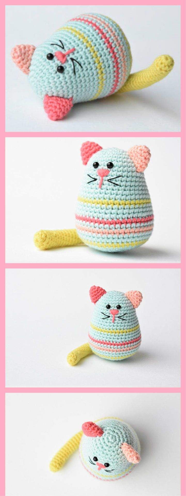 1464 best amigurumi images on Pinterest | Crochet toys, Amigurumi ...