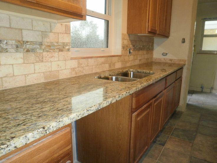 Kitchen Backsplash Oak Cabinets best 25+ dark oak cabinets ideas on pinterest | kitchen tile