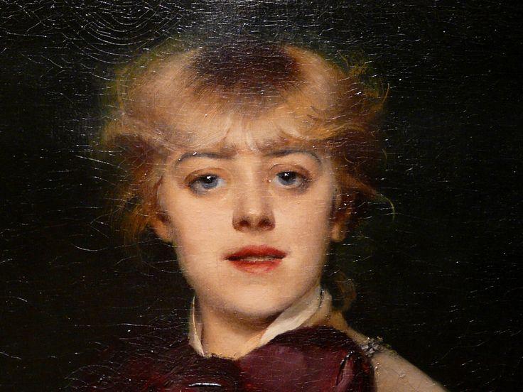 ABBEMA Louise,1879 - Jeanne Samary, Sociétaire de la Comédie-Française - Détail 1