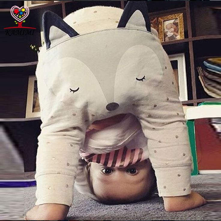 Cheap baby pants, Buy Quality baby boy pants directly from China baby pants girl Suppliers: KAMIMI baby pant autumn new 6-24M cartoon fox dot printed cute baby boys girls pant cotton soft new born baby clothes XYM374
