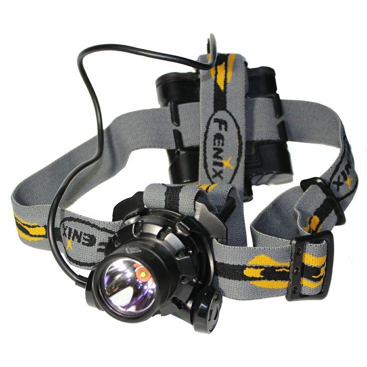 Linterna frontal HP11 negra. Fenix Light.