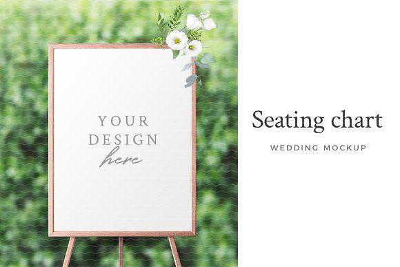 Wedding Seating Chart Mockup by Lena Zakharova on @creativemarket