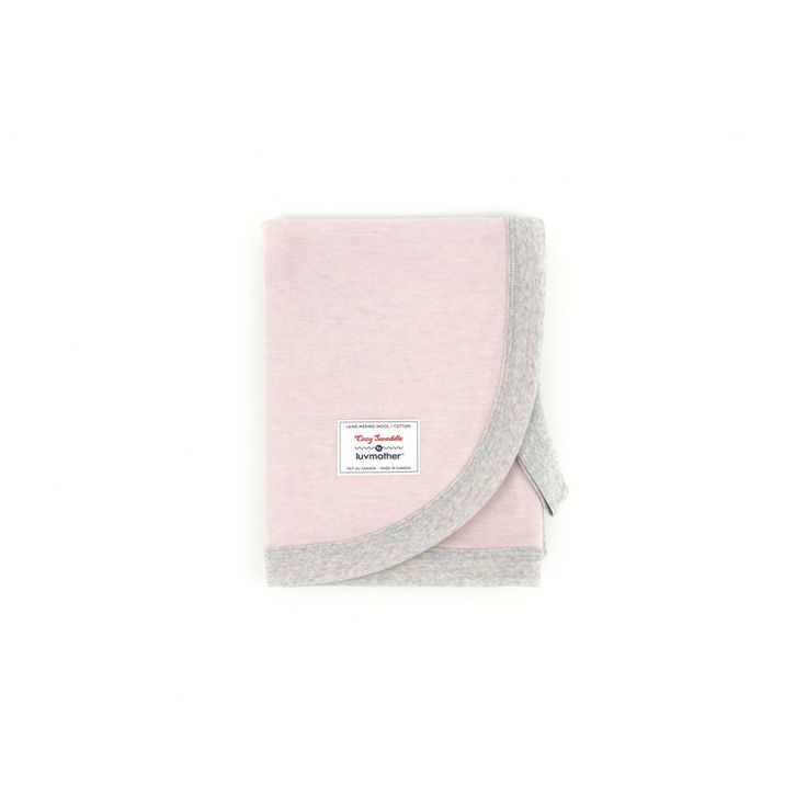 Cozy Swaddle in Soft Pink by luvmother