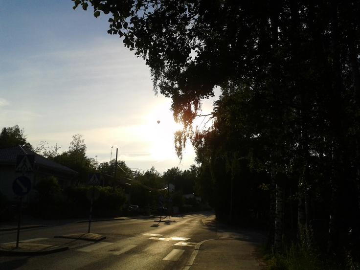Sunset Jollaksentie