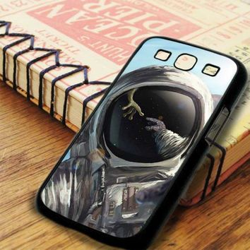Astronout In Space Meet The Alien Samsung Galaxy S3 Case