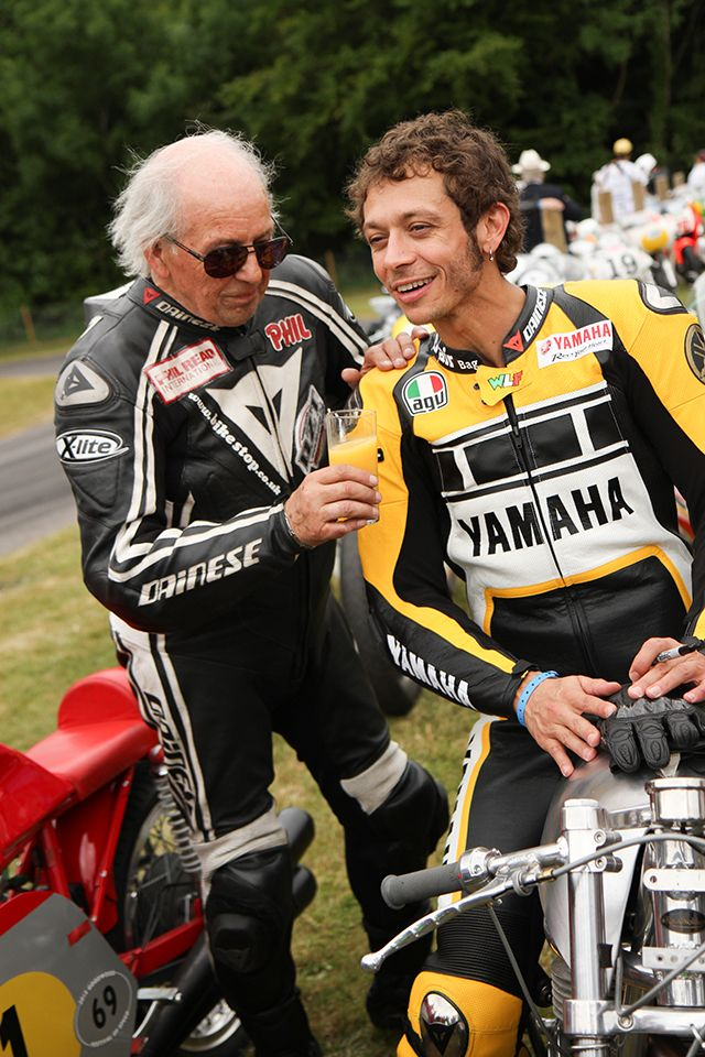 Goodwood announces provisional 2016 Festival of Speed and Revival - Phil Read and Valentino Rossi.