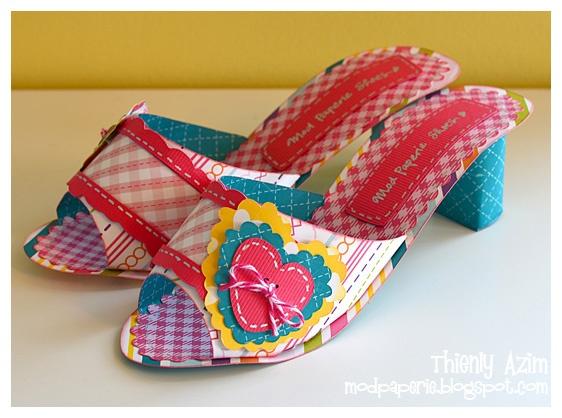 Amazing PAPER shoes!!