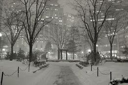 NYC in winter, a long time ago