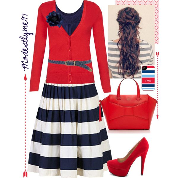"""Nautical"" by modestlyme97 on Polyvore"
