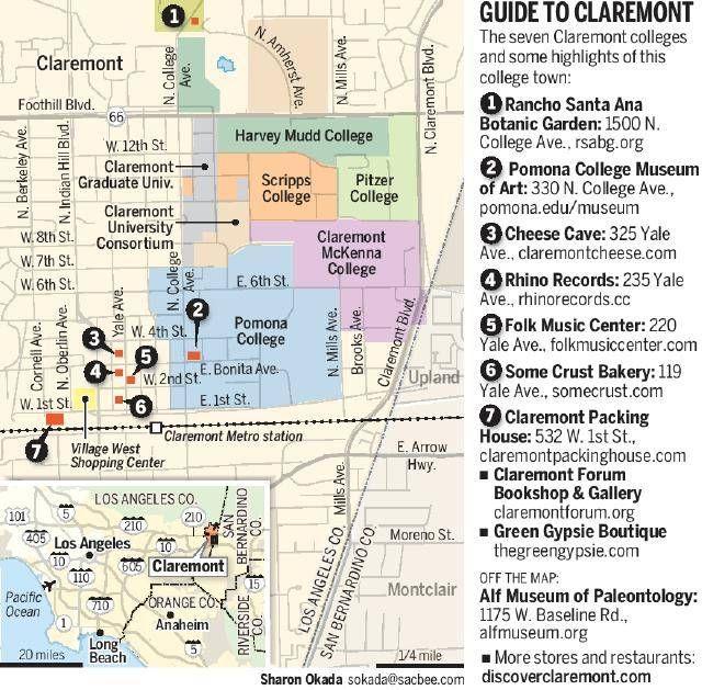 Claremont Village, Claremont, CA