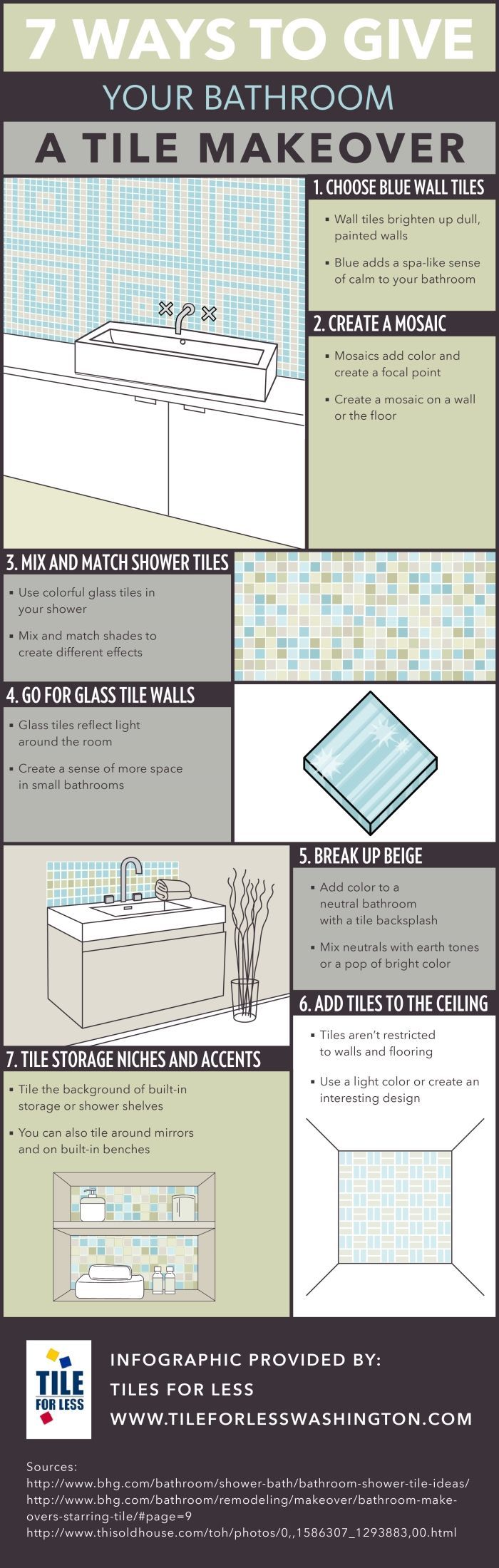 25 melhores ideias de discount tile flooring no pinterest tiles dont have to be restricted to walls and flooring enhance your bathroom dcor by adding tiles to the ceiling click over to this seattle discount doublecrazyfo Image collections