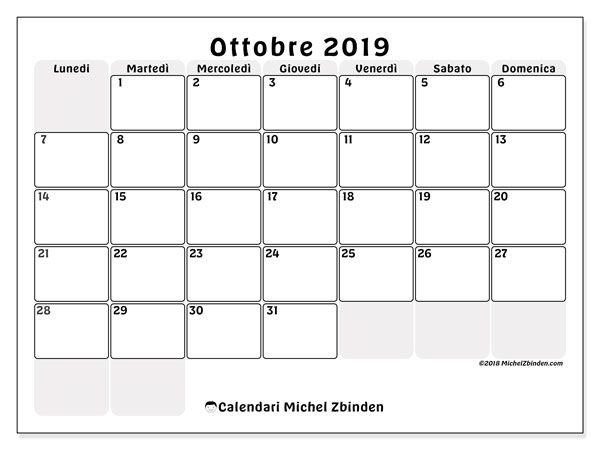 Calendario 2020 Mensile Da Stampare.Calendari Da Stampare Calendario Calendari Mensili