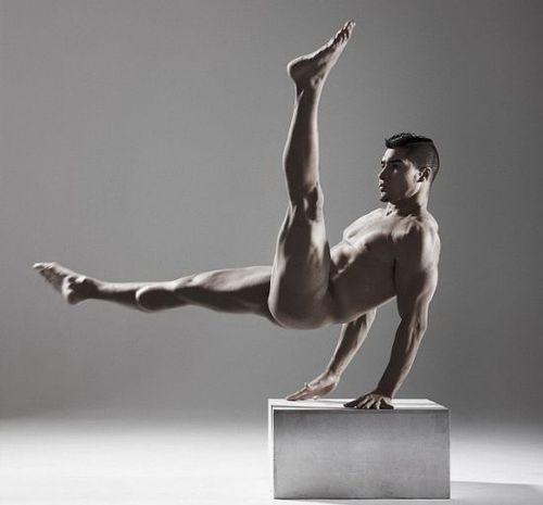 Brit gymnast Louis Smith  via Tumblr