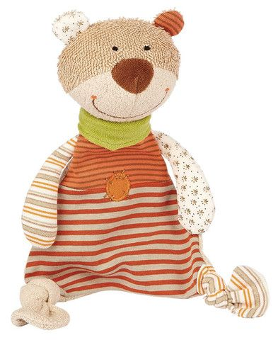 Sigikid Comforter Organic Collection Bear £20.10  Naturally there from the very beginning. Whether for comforting, cuddling or as playmate.  Children just love having this friendly little bear by their side. High quality materials made from 100% certified organically cultivated cotton.