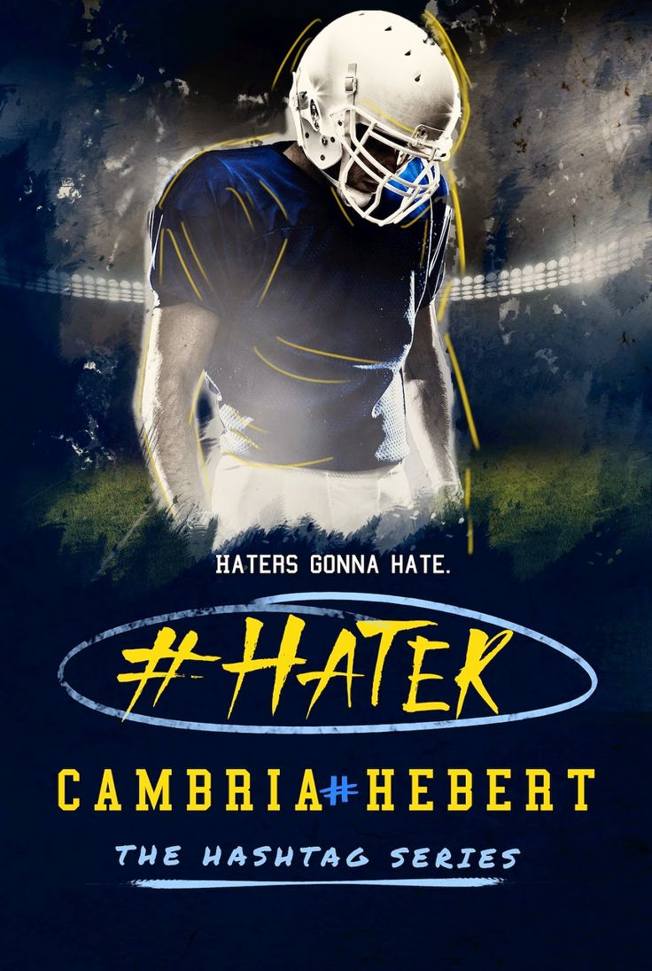 Check out the cover reveal for # Hater by Cambria Hebert http://padmeslibrary.blogspot.com/2014/12/cover-reveal-hater-by-cambria-hebert.html