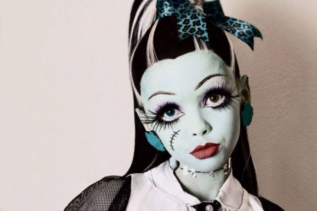 Best 25 Monster High Makeup Ideas On Pinterest Monster High Party Costume Gesicht Schminken