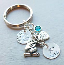 Graduation Key Chain Personalized Gift