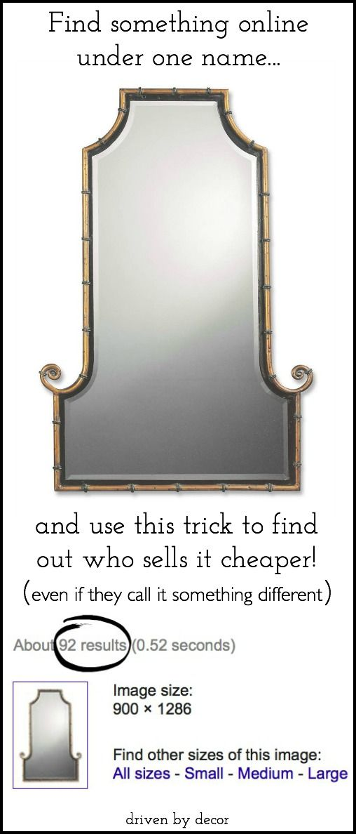 My Favorite Trick for Finding the Best Online Prices - Driven by Decor