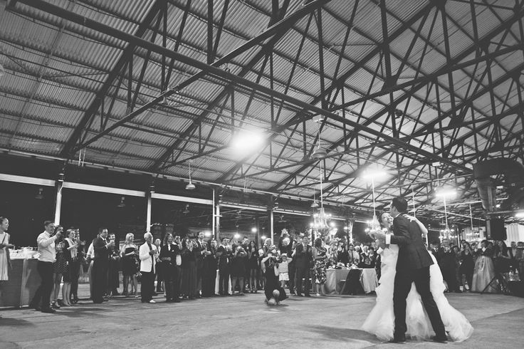 Wedding First Dance at Evergreen Brick Works in the Holcim Gallery