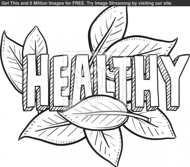 Staying Healthy Coloring Pages Free Preschool Activities Organic Recipes Draw On Photos
