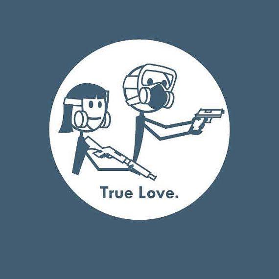 True Love Biohazard Zombie shirt by ZombieSurvivorz on Etsy, $19.99