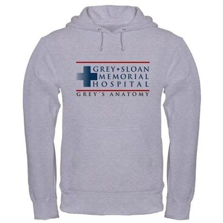 Grey Sloan Memorial Hospital Hooded Sweatshirt