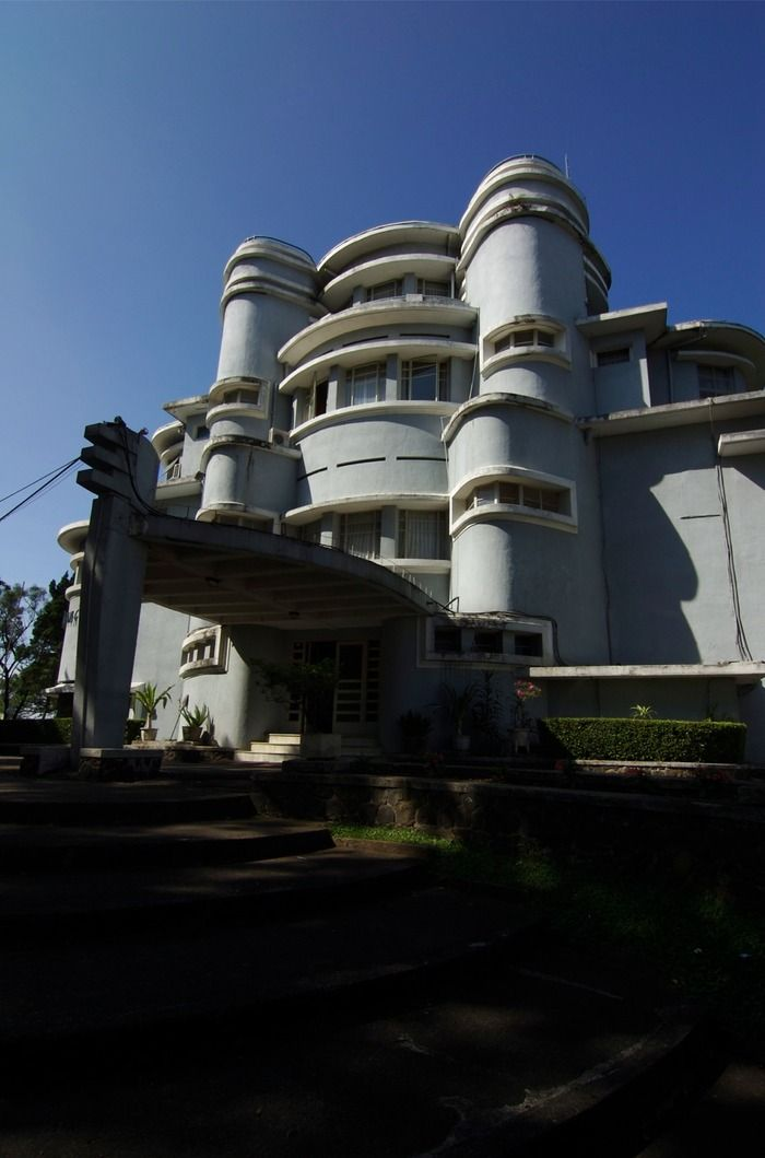 Built in 1933, the Villa Isola was previously known as Villa Berrety. Photo by Indra Yudha