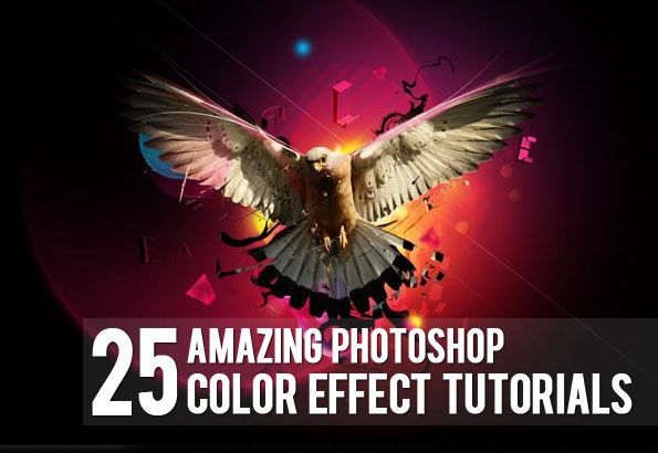 25 Amazing Photoshop Color Effect Tutorials