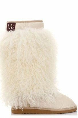 87d19162ee8b ShopStyle  Australia Luxe Collective Sherpa Boots in White   AdidasElementVShoesWomenS