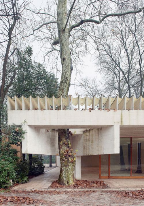"""Nordic pavilion, Sverre Fehn 1958. 2016 VENICE BIENNALE: """"REPORTING FROM THE FRONT"""" A short feature on the most recent Architecture Biennale. The curator, Chilean architect Alejandro Aravena, gave the festival a more social focus than usual, looking... #pavilionarchitecture"""