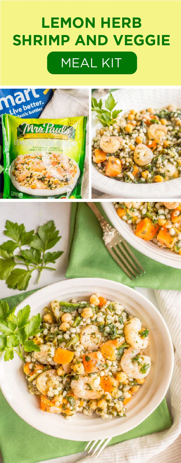 Serve up fresh flavors and good-for-you ingredients on your dinner table, all with the help of Mrs. Paul's® Seafood and Veggie Meals! With varieties like Lemon Herb Shrimp with Barley, Spinach, Sweet Potatoes, and Chickpeas getting the whole family in on meatless meal ideas couldn't be tastier. Plus, when you stock up on these freezer meal kits at Walmart, getting dinner ready in a hurry is no longer a hassle!