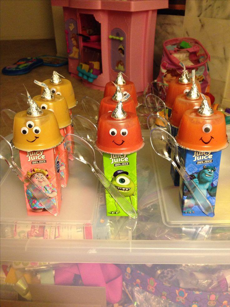 Monster Army School Birthday Treats