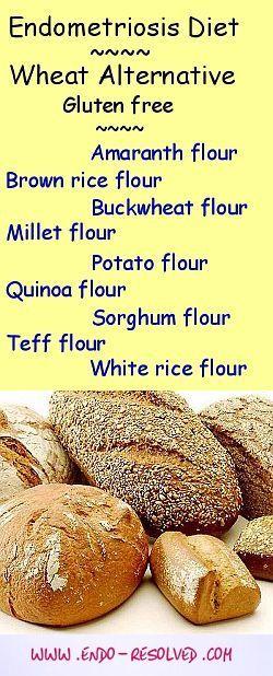 endometriosis diet flour alternatives