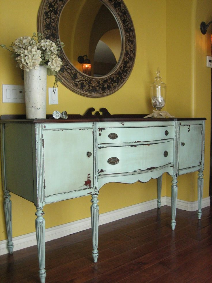 Love This Dresser And Its Obvious By Now That I Love Mint Seafoam Green