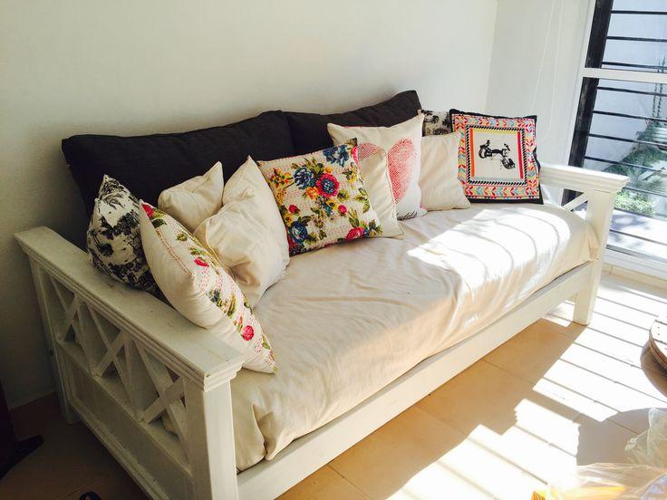 Las 25 mejores ideas sobre sillon cama en pinterest for Sillon con palets reciclados