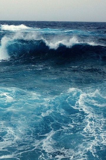 Ocean blue, I love the ocean!