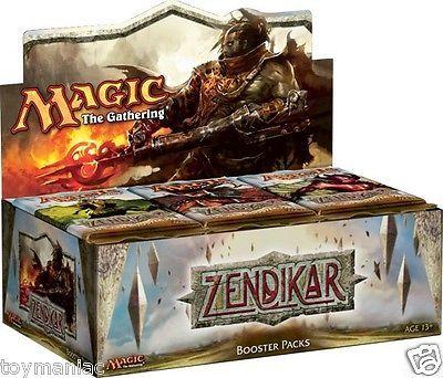 Magic The Gathering MTG Zendikar Factory SEALED Booster Box English | eBay